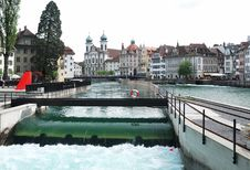 Free Luzern Panorama Stock Photography - 36089632