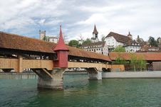 Free Luzern Panorama Royalty Free Stock Photography - 36089637