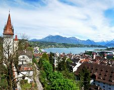 Free Luzern Panorama Stock Photos - 36089643