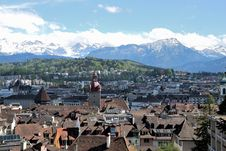 Free Luzern Panorama Stock Photo - 36089650