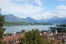 Free Luzern Panorama Stock Photography - 36089652