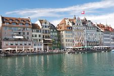 Free Luzern Panorama Royalty Free Stock Photos - 36089658
