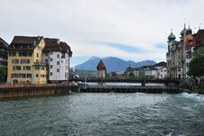 Free Luzern Panorama Royalty Free Stock Photos - 36089668