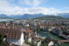Free Luzern Panorama Stock Image - 36089681