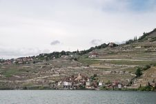 Free A View Of The Village From The Vine Terraces Stock Photos - 36089803