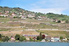 Free A View Of The Village From The Vine Terraces Stock Image - 36089821