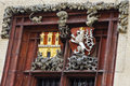 Free Decoration Of Old Building In Prague Stock Photography - 36097162