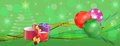 Free Colorful Christmas Banner Panorama Royalty Free Stock Photos - 36098488