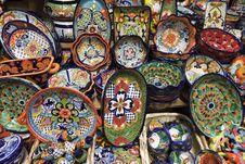 Free Artisanal Ceramic Pottery Royalty Free Stock Photo - 36090105