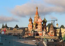 Free St. Basil S Cathedral Stock Photos - 36093553