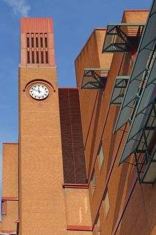 Free Clocktower Of British Library, London, England, UK Stock Images - 36093784
