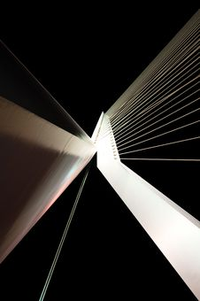 Free Suspension Bridge Cables Royalty Free Stock Photography - 36098447