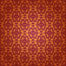 Free Damask Seamless Floral Pattern. Royalty Free Stock Photography - 36099817