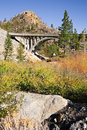 Free Arched Bridge In The Mountains Royalty Free Stock Image - 3610866