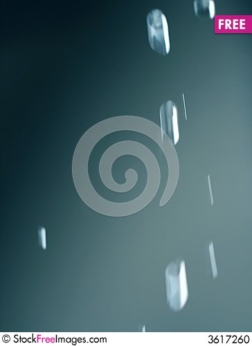 Free Falling Water Drops From Eaves Stock Photo - 3617260