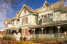 Victorian Mansion Stock Image