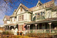Free Victorian Mansion Stock Image - 3610511