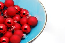 Free Red Christmas Ornaments Royalty Free Stock Images - 3610519