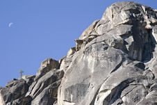 Free Rock Climber At Donner Pass California Royalty Free Stock Image - 3611016
