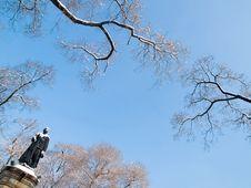 Russian Revolutionaries Sergey Lazo Statue Stock Images