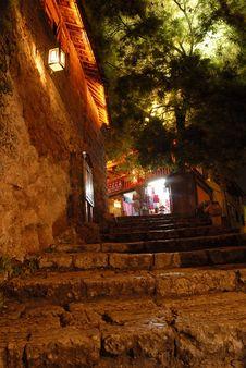 Free Night Scene Of Lijiang Stock Photography - 3612952