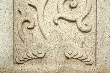Free Stone Carved Pattern Stock Images - 3613294