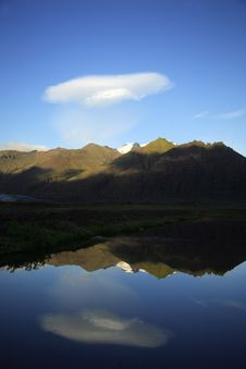 Free Lake And Glacier Stock Photo - 3615020