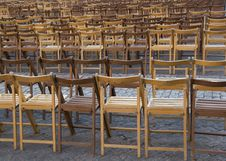 Free Empty Chairs Royalty Free Stock Photography - 3615077