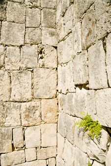 Castle Block Brick Walls Royalty Free Stock Photography