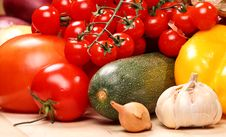 Free Set Of Different Vegetables Stock Photography - 3616382