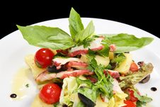 Free Octopus Salad Royalty Free Stock Image - 3616436