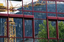 Free Crane Reflection 1 Stock Image - 3616481