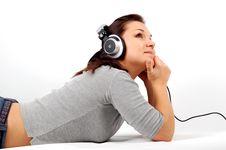 Free Listening Music Stock Image - 3616561