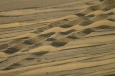 Free Sand In Egyptian Desert Stock Photography - 3616732