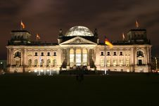 Free German Bundestag Stock Photography - 3616982