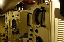 Free Command Compartment. Submarine Interiors. Royalty Free Stock Photo - 3617135