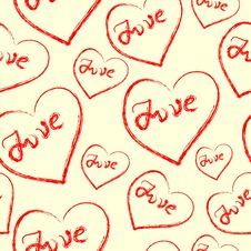 Free Seamless Valentine Stock Image - 3617211