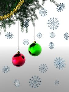 Free Christmas And New Year 3D Stock Photo - 3617740