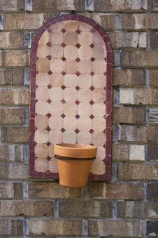 Free Planter On Wall Stock Photo - 3618060