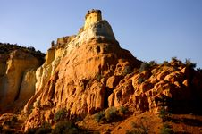 Free Sunset Over Desert Rock Formation Royalty Free Stock Photography - 3618667