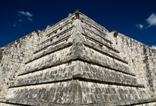 Free Pyramid At Chichen Itza Mexico Royalty Free Stock Images - 3618899