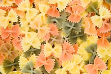 Free Colorful Farfalle Stock Photos - 3619223