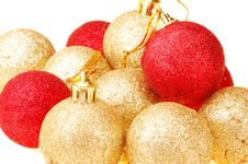 Free Christmas Tree Balls Stock Photography - 3619262