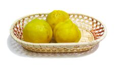 Free Quinces Royalty Free Stock Photo - 3619655