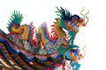 Free Chinese Dragon Statue On Roof Royalty Free Stock Photo - 36104395