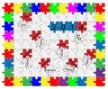 Free Jigsaw Drop-down Puzzle  2013- 2014  - Wishful Thinking 1 Stock Photos - 36105343