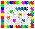 Free 7   Jigsaw Drop-down Puzzle  2014  - Wishful Thinking Stock Photos - 36105663