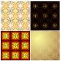 Free A Set Of Seamless Backgrounds With Calligraphic, R Royalty Free Stock Image - 36108226