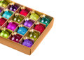 Free Box With Christmas Decorations Royalty Free Stock Photo - 36109085