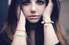 Free Beautiful Brunette Portrait Royalty Free Stock Image - 36100236